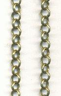 5mm Antique Bronze Plated Rolo Chain