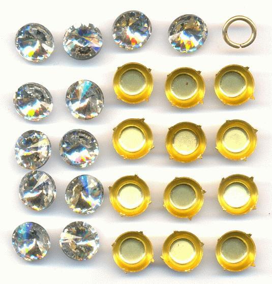 Home > Jewelry Making Kits > Soldering Kits > Kit 63-1 Crystal Cross Kit