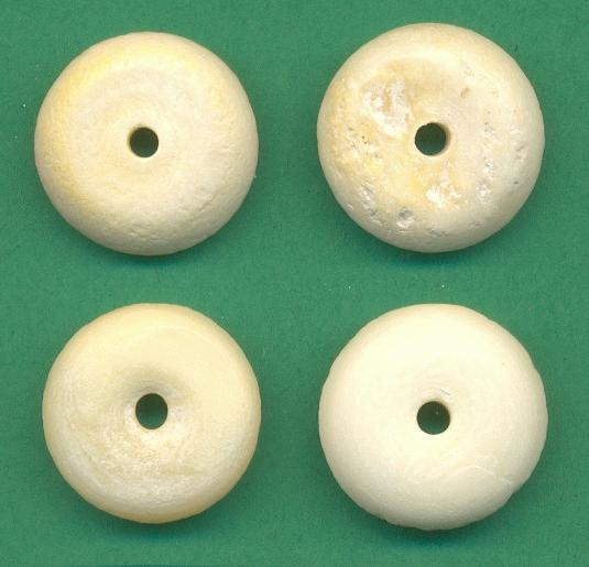16mm Carved Bone Disk Beads Jan S Jewelry Supplies