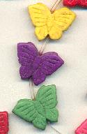 26x20mm Magnesite Butterfly Beads