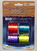 S-Lon Bead Cord Color Mix - Brights