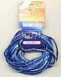 2mm Rattail Cord Color Mix - Blue Tones