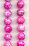 12mm Pink Faceted Druzy Agate
