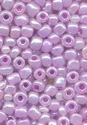 06/0 Lavender/Silver Luster Seed Beads