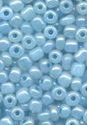 06/0 Blue/Silver Luster Seed Beads