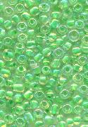 08/0 Lime Green Lined Seed Beads