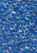 06/0 Dark Blue Lined Seed Beads