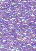 4.9mm Purple Lined AB Magatama Seed Bead