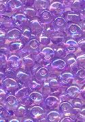 4.9mm Purple AB Magatama Seed Beads