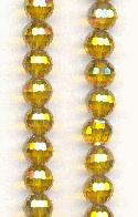 5.5mm Chinese Topaz/Luster Glass Beads