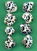 Leopard Print Mother-of-Pearl Beads
