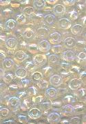 06/0 Clear AB Glass Seed Beads
