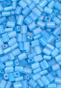 5x3.5mm Light Blue Glass Rectangle Beads