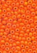 05/0 Coral Orange Seed Beads