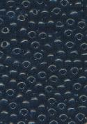 06/0 Opaque Jet Black Seed Beads