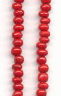 05/0 Cherry Red Seed Beads