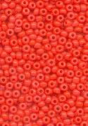 11/0 Opaque Coral Seed Beads