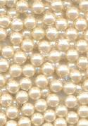 5.8mm Off-White Half Drilled Pearl Beads