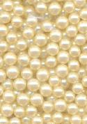 3.8-4.4mm Off White No Hole Pearl Beads
