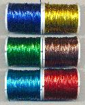 0.6mm Mixed Metallic Beading Thread