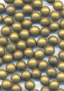 4mm Brass No Hole Beads