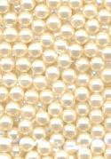 3mm No Hole Off-White Pearls