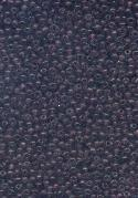 15/0 Transparent Dk Amethyst Seed Beads