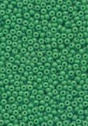 13/0 Opaque Green Seed Beads