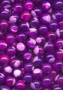 8mm Purple/Fuschia/Pink Shell No Holes