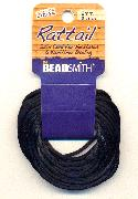 2mm Rattail Cord - Black