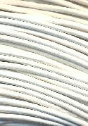 1.9mm White Leather Beading Cord