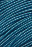 1.8mm Teal Blue Leather Beading Cord