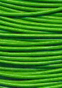 1.6mm Bright Green Leather Beading Cord