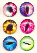 19mm Animal Eye Glass Stones