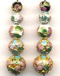 Mixed Cloisonne' Beads #2