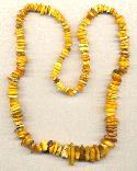 28'' Natural Amber Nugget Beads
