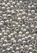 2mm Textured Anitque Silver Crimp Beads