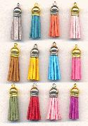 1 1/2'' Mixed Suede Cloth Tassels
