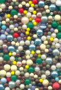 Mixed Lot No Hole Beads