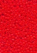 11/0 Coral Orange Seed Beads