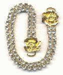 10 1/4'' Gold Plated RS Embellishment