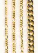 Mixed Lot of Gold Plated Chains