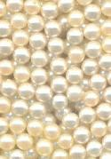 4mm Mixed Off-White Pearl No Hole Beads