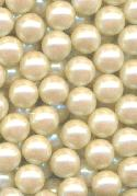 10mm Off-White No Hole Pearl Beads