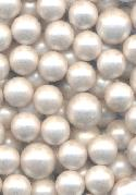 Mixed 10mm & 12mm White No-Hole Pearls