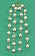 3'' Tassels With 6mm Pearls.