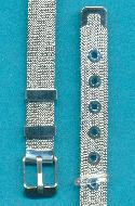 8'' Stainless Steel 10mm Mesh Bracelet