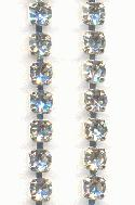 30ft 16ss Crystal SP Rhinestone Chain SQ