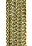 25mm Brass Wavy Mesh Chain