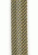 9mm Brass Mesh Channel Chain